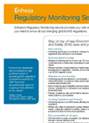 Enhesa Regulatory Monitoring Flyer
