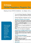 Enhesa Regulatory Register Flyer