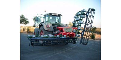 Vibrocultivators - Seedbed Folded Vertically 6 to 8m
