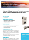 Aquaray LPTS Industrial UV Systems Datasheet