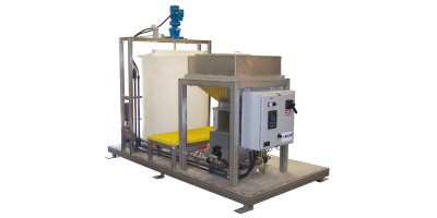 FloVac - Model DH 1250 Series - High Per formance Dry Polymer Systems