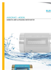 Domestic AMR Ultrasonic Water Meter : ASIONIC 400S