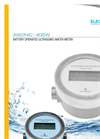 Battery Operated Ultrasonic Water Meter : ASIONIC 400W
