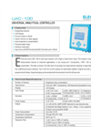 Universal Analytical Controller : UAC-100