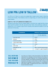 FE Low FFA Low IV Tallow