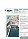 Leopold - Model Clari-Vac - Floating Sludge Collector Brochure