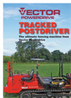 Tracked Post Driver Brochure