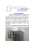 Controlled Temperature Chamber  Brochure