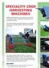 Speciality Crop Harvesting Machines - Brochure