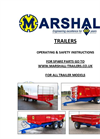 Trailers Instruction Manual
