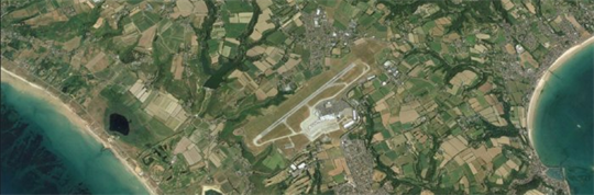 Aerolaser Handheld as bird strike prevention at Jersey International Airport, UK - Case Study
