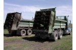 Lowlander Widebody  - Model 140  - Truck Mount Large Volume Vertical Auger