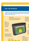 Trimble - CFX-750 - Touchscreen Display Brochure