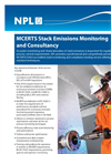 MCERTS Stack Emissions Monitoring and Consultancy