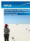 Uncertainty for Earth Observation Radiometric Instrument Calibration Training Course - Flyer