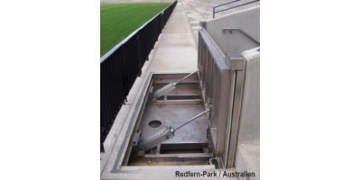 AGGERES - Pneumatically Controlled Flood Barrier
