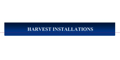 Harvest Installations