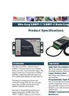 Model LRHT-1 SITE-LOG - 2-Channel Battery Powered Stand-Alone Relative Humidity Data Logger Brochure