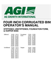 4` Corrugated Flat Bottom Bins- Brochure