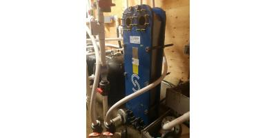 Clean Plate Heat Exchange System