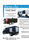 Dyna-Jet - Model 6500 - Truck Mounted Sewer Cleaners - Brochure