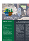 On-Site Environmental Testing Services - Brochure