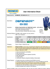 Defensor - Model 69-560 - Nitrile Palm Coated HPPE Glove Brochure