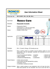 Ronco Care - Polypropylene Coverall Brochure