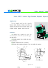 HUATE - Model LHGC - Oil-forced Cooling Vertical High Gradient Magnetic Separator - Brochure