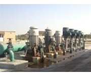 Monitoring of typical pumps and aerator in a water treatment plant