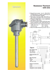 Senmatic - Model Type A - Resistance Thermometer with Removable Insert - Brochure