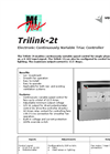 Trilink - Model 2t - Electronic Continuously Variable Triac Controller Brochure