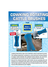 CowKing - Rotating Cattle Brushes Brochure