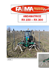 Model RX300 - RX150 - Vine Running Windrowers Brochure