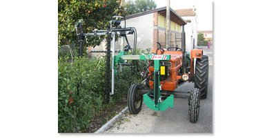 Model CMS 180 - Double-Headed Lopping Machine for Hedges
