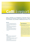 GaBi i-Report - Brochure