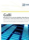 GaBi Suite - Product Sustainability Performance Software - Brochure