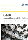 GaBi - PSP Suite - Product Sustainability Software - Brochure