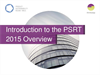 Introduction to the PSRT 2015 Overview Brochure