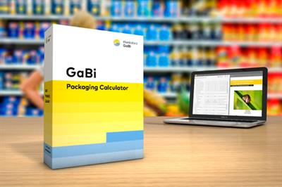GaBi ts - Packaging Calculator - Sustainable Packaging Design