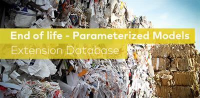 GaBi - End-of-Life - Parameterized Models - LCA Database