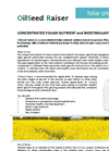 OilSeed Raiser Brochure