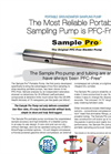 Sample Pro 1.75 Inch Sampling Pump Datasheet