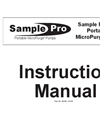 Sample Pro 3/4 Inch Portable MicroPurge Pump - Instruction Manual