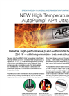 AutoPump - Model AP4 Ultra - High Temperature Specialty Pump - Datasheet