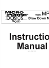 MicroPurge - Model MP30 - Drawdown and Water Level Meter for Low-Flow Sampling - Instruction Manual