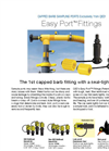 Easy Port - Capped Barb Fitting - Brochure