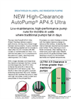 AutoPump - Model AP4.5 Ultra - High-Clearance Pump - Brochure