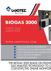 Landtec - Model BIOGAS 3000 - Fixed Gas Analyzer - Brochure