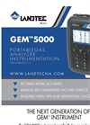 Landtec - Model GEM5000 Series - Portable Landfill Gas (LFG) Collection & Control Systems - Brochure